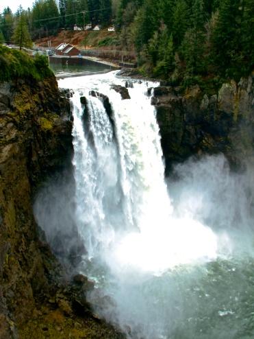 Snoqualmie Falls, Snoqualmie WA.