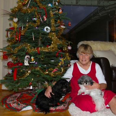 Xmas 2013, Max & Cassie & me