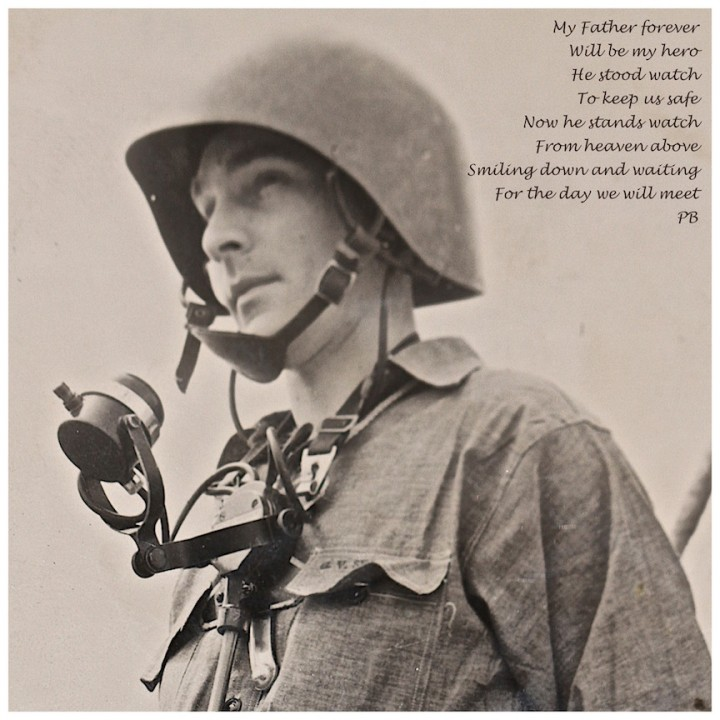 Dad WWII and poem